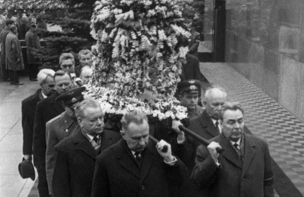 Pogrzeb Jurija Gagarina w Moskwie, 02.04.1968 r. /AFP