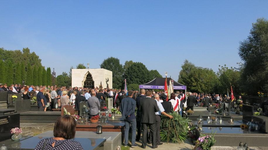 Pogrzeb Kazimierza Czekaja /Józef Polewka /RMF FM