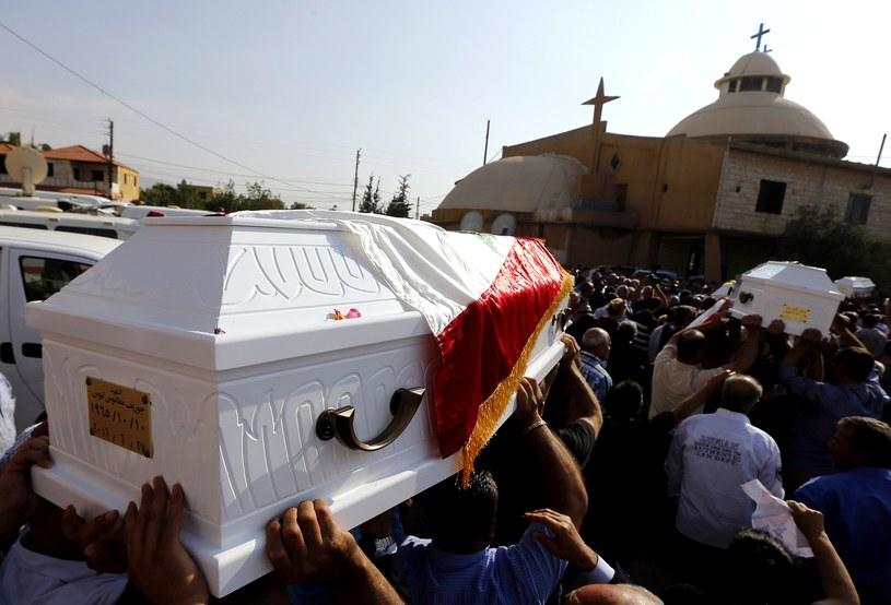 Pogrzeb ofiar zamachów z 27 czerwca 2016 roku /AFP