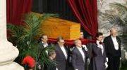 Pogrzeb papieża minuta po minucie