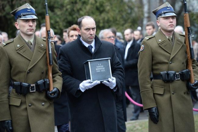 Pogrzeb Tadeusza Konwickiego /PAP/Jacek Turczyk /PAP