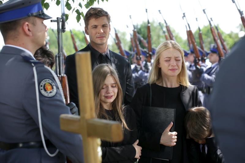 Pogrzeb Tomka /Agencja W. Impact