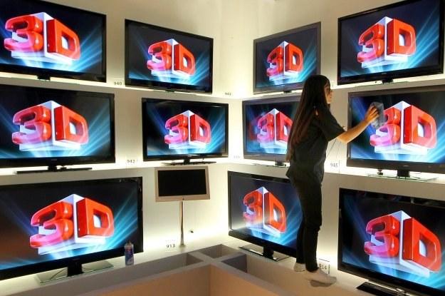 Pojawia się coraz więcej kanałów 3D - szczególnie sportowych /AFP