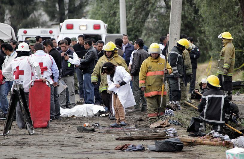 Pojazd eksplodował masakrując uczestników procesji /AFP