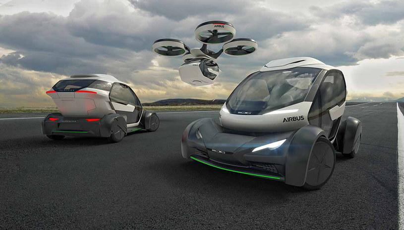 Pojazd łączy elastyczność małego samochodu ze swobodą samolotu pionowego startu i lądowania. /INTERIA.PL/informacje prasowe