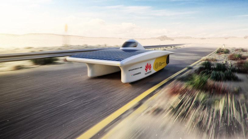 Pojazd solarny zespołu Sonnenwagen /INTERIA.PL/informacje prasowe