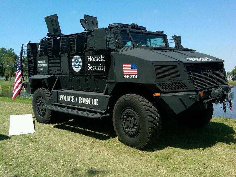 Pojazd wykorzystywany przez Homeland Security /materiały prasowe