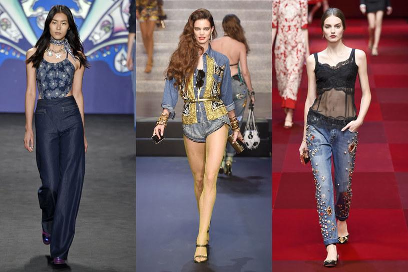 Pokaz Anna Sui, Jean Paul Gaultier i Dolce&Gabbana /East News/ Zeppelin