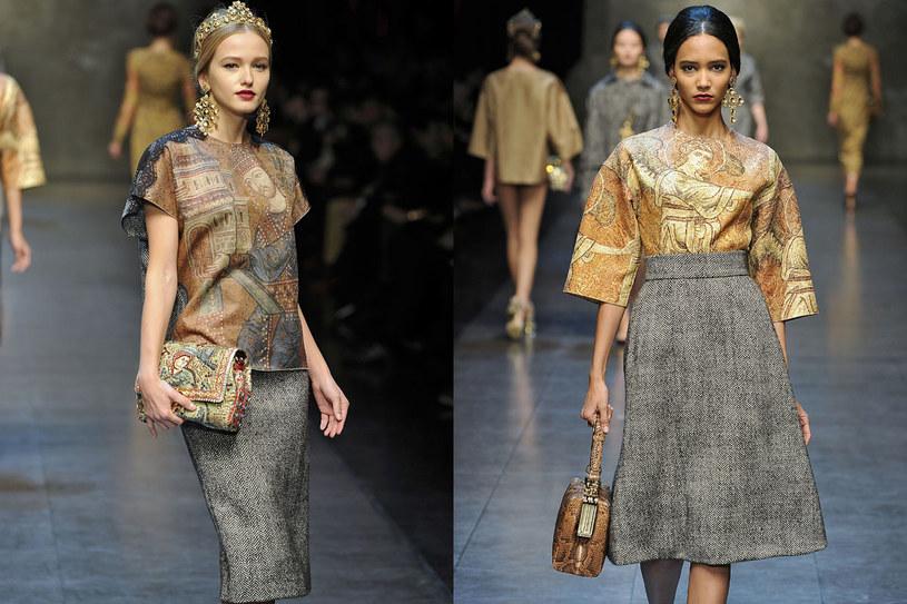 Pokaz Dolce&Gabbana /East News/ Zeppelin