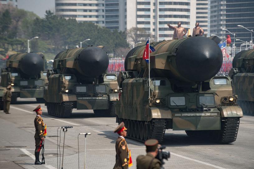 Pokaz siły wojsk Korei Płn. w Pjongjangu /AFP