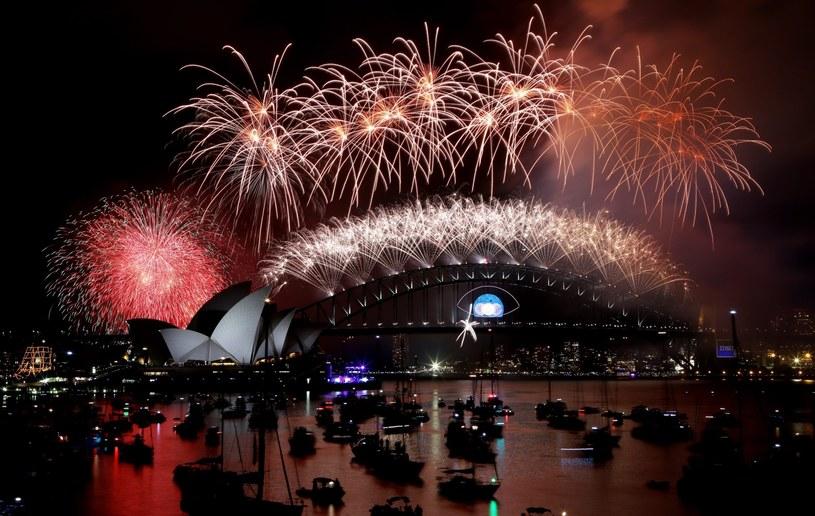 Pokaz sztucznych ogni w Sydney /PAP/EPA