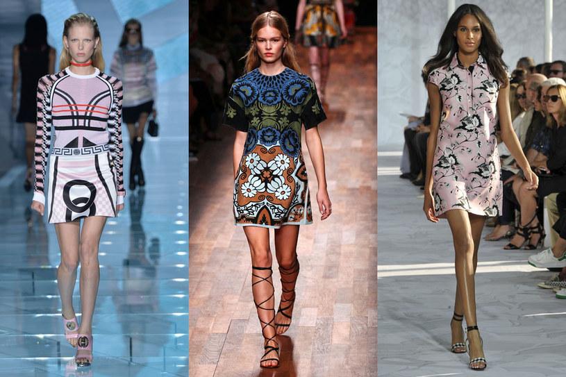 Pokazy wiosna/lato 2015 Versace/Valentino/Diane vion Furstenberg /East News/ Zeppelin