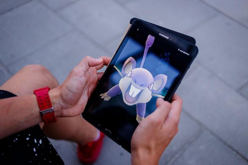 """""""Pokemon Go"""" /Łukasz Klos /Reporter"""