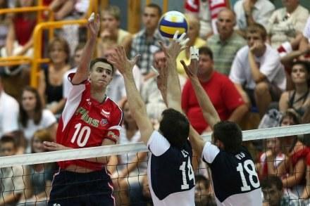 Polacy męczyli się ze Słowacją. Podobnie było z Wlk. Brytanią Fot. Łukasz Grochala /Agencja Przegląd Sportowy