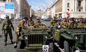 Polacy na defiladzie w Rzymie. 70 lat później