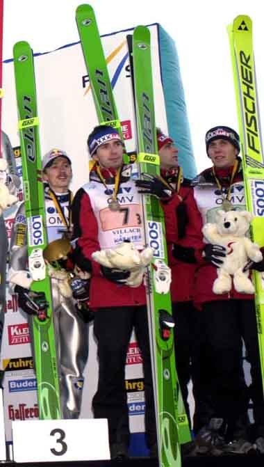 Polacy na podium