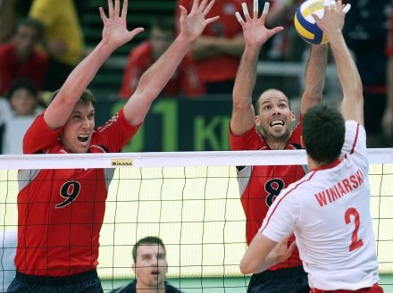 Polacy pokonali USA i w półfinale zmierzą się z Brazylią /AFP