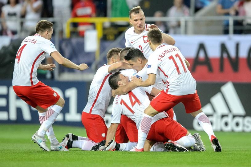 Polacy uratowali punkt w doliczonym czasie gry /Fot. Wojciech Pacewicz /PAP