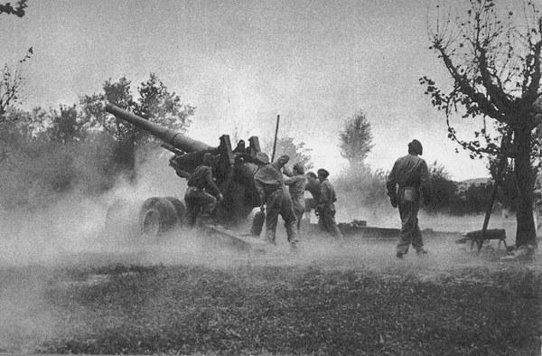 Monte Cassino, 2 Korpus Polski, grupa artylerii
