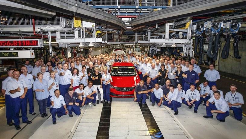 Polacy z fabryki w Gliwicach  produkują także Holdeny Astra na rynki Australii i Nowej zelandii /