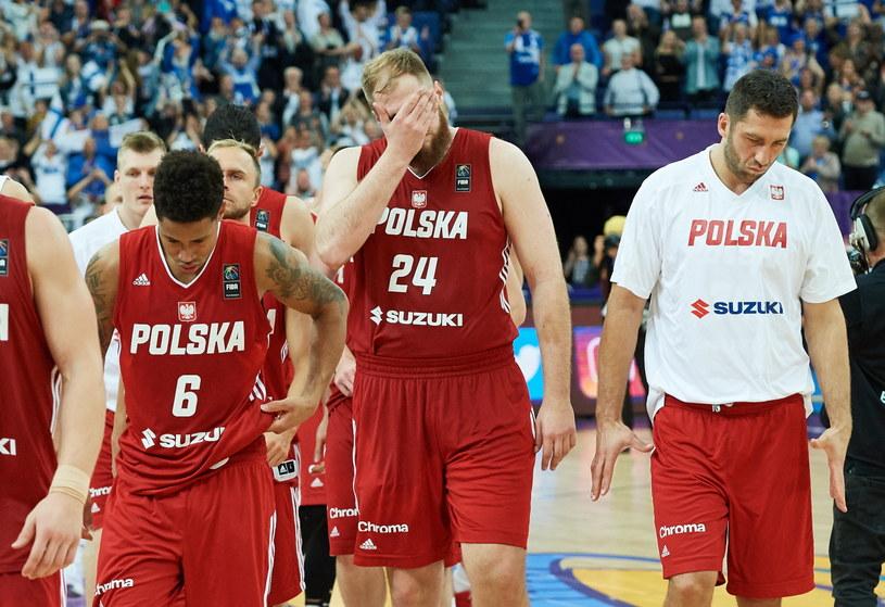 Polacy zawiedli na Eurobaskecie /Fot. Adam Warżawa /PAP