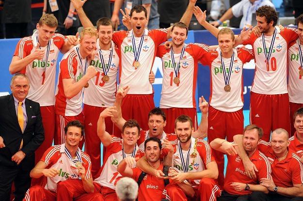 Polacy zdobyli w Wiedniu brązowy medal mistrzostw Europy /AFP
