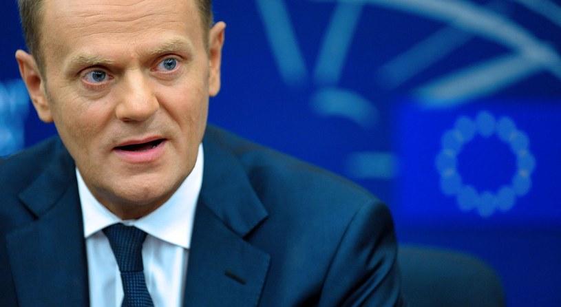 Polacy źle oceniają pracę premiera Tuska. /AFP