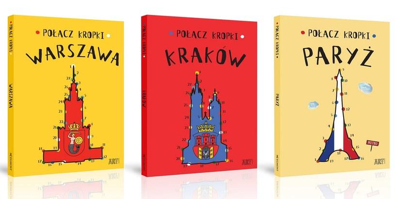 Połącz kropki. Warszawa. Kraków. Paryż /materiały prasowe