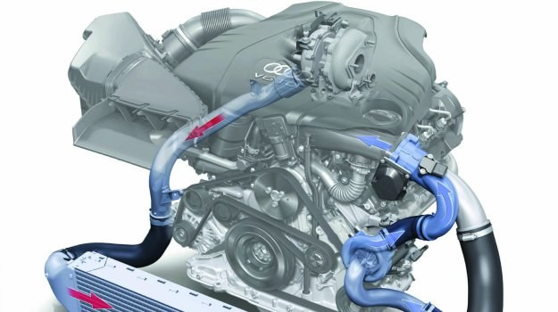 Połączenie turbo i elektrycznie napędzanego kompresora to sposób Audi na wysoki moment przy niskich obrotach. /Motor