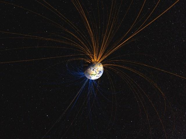 Pole magnetyczne Ziemi nie zawsze wyglądało tak, jak dzisiaj /NASA