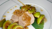 Poledwica wieprzowa i szaszlyki z fig