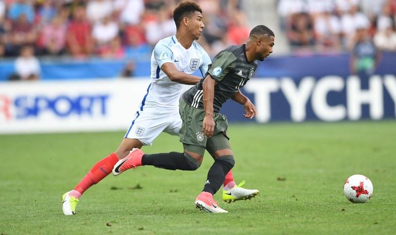 Półfinał Euro U-21 Niemcy - Anglia na stadionie w Tychach /AFP