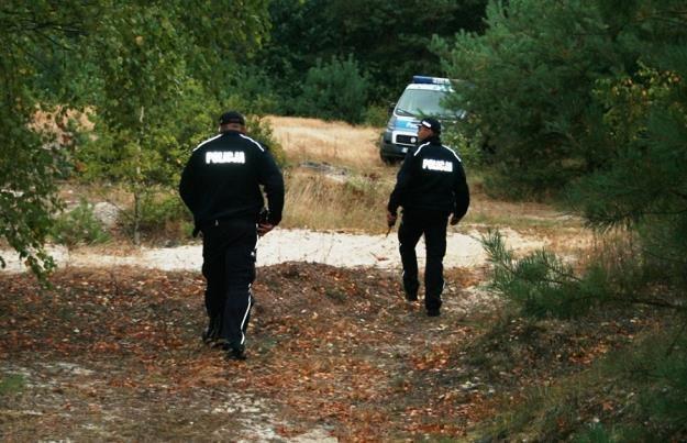 Policja na miejscu tragedii /Policja