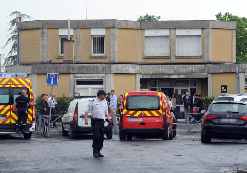 Policja na miejscu tragedii /Eric Cabanis /AFP