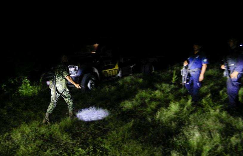 Policja na miejscu zdarzenia /AFP