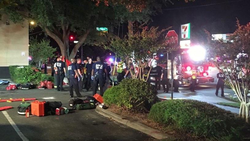 Policja poinformowała, że w strzelaninie zginęło około 20 osób /EPA/UNIVISION FLORIDA CENTRAL /PAP/EPA