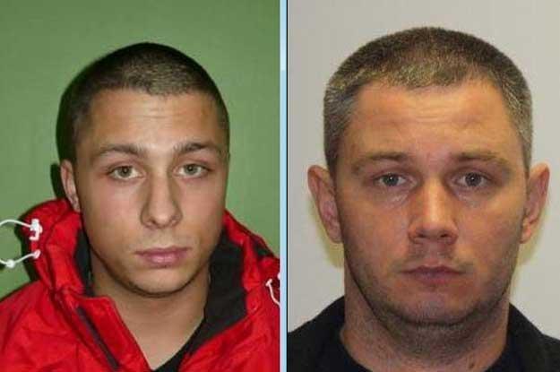 Policja poszukuje jeszcze Maksa Skibickiego (z lewej) i Tomasza Spornego /Policja