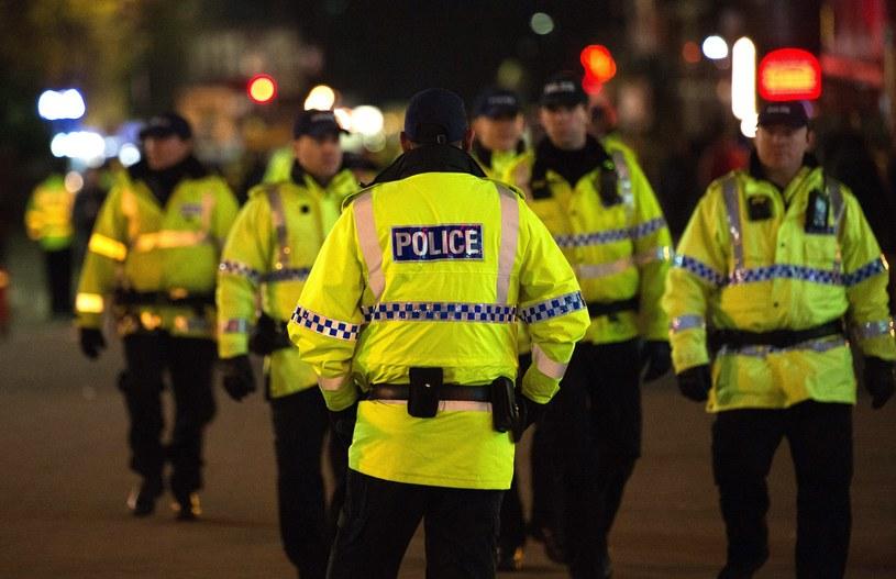 Policja w Manchesterze /PAP/EPA
