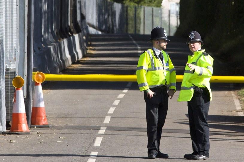 Policja w Newport, w pobliżu The Celtic Manor Resort, gdzie odbędzie się szczyt NATO /AFP