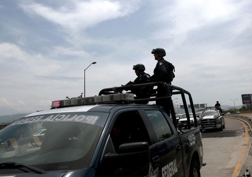 Policja w owładniętym przemocą meksykańskim stanie Guerrero /AFP