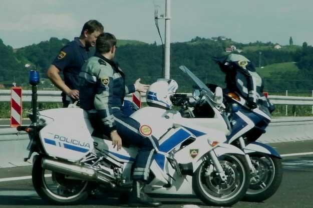 Policja w Słowenii często kontroluje winietki... /