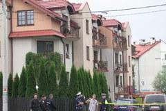 Policja weszła do garażu bombiarza z Krakowa