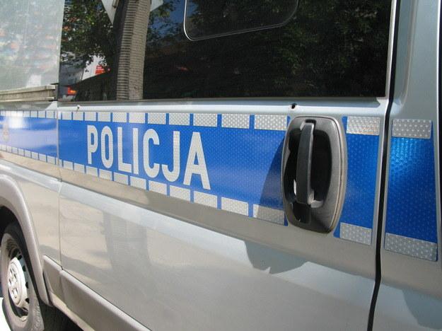 Policja wyjaśnia okoliczności zdarzenia /RMF FM