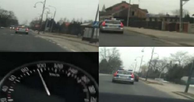 Policjanci nie przejmowali się ograniczeniami /RMF