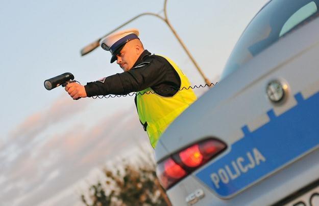 Policjanci zapowiadają wzmożone kontrole / Fot: Paweł Skraba /Reporter