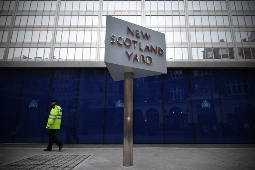 Policyjną akcją kierował Scotland Yard /AFP