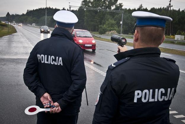 """Policyjna akcja """"Prędkość"""" / Fot: Tymon Markowski /East News"""