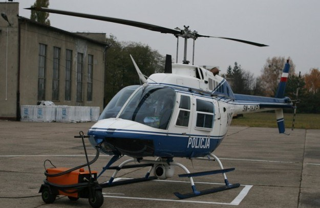 Policyjny Bell 206B-III Jet Ranger /