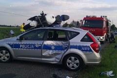 Policyjny pościg w Wielkopolsce
