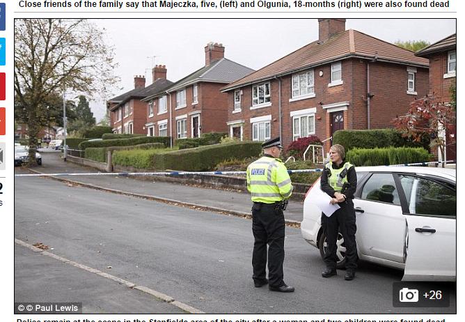 Polka i jej dwie córki zostały zamordowane w Wielkiej Brytanii /Daily Mail /